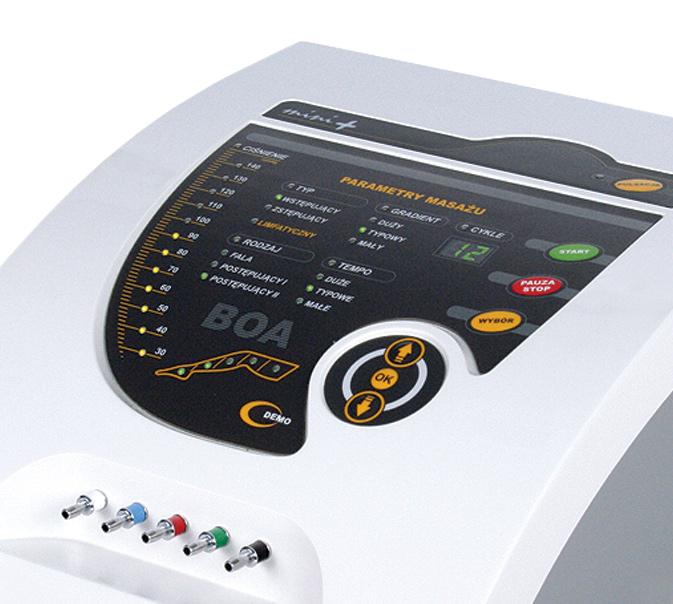Urządzenie do masażu limfatycznego BOA