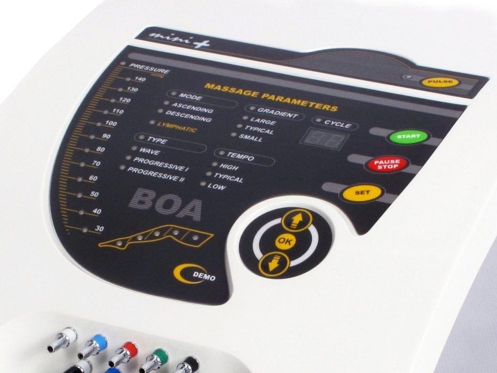 Aparat BOA Mini do masażu dla medycyny sportowej masaż antycellulitowy