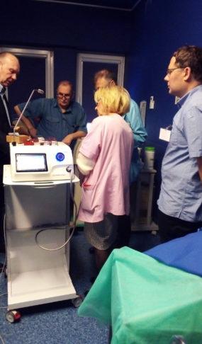 Aparat do kriochirurgii okulistyka Cryo-S Electric