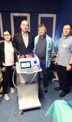 Cryo-S Electric oddział okulistyki Centrum Zdrowia Dziecka